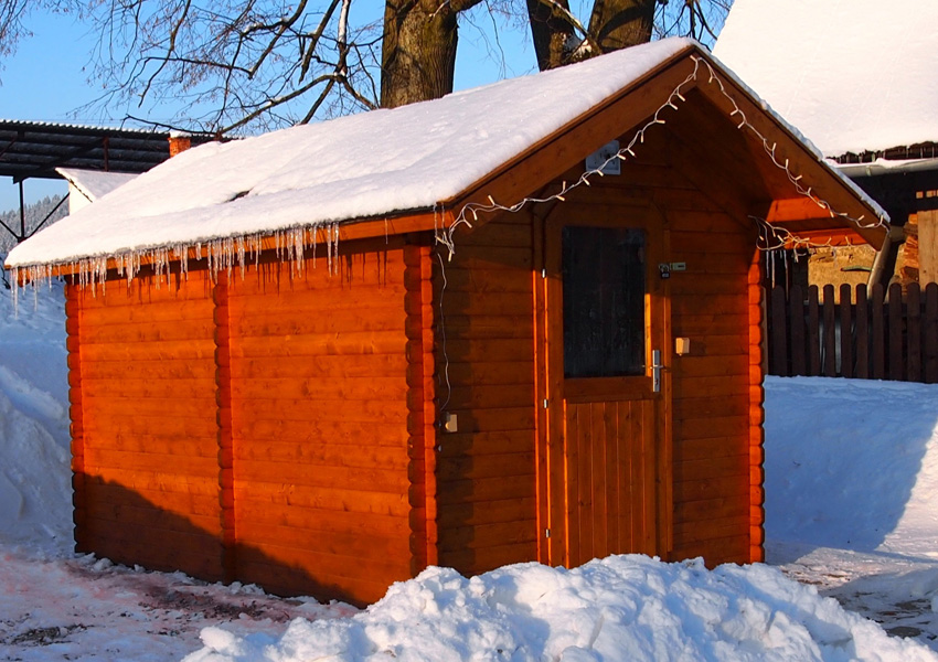 relax in finnischer au en sauna rekrea n chalupa alberta 1. Black Bedroom Furniture Sets. Home Design Ideas